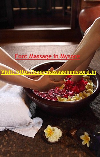 Foot Body Massage in Mysore